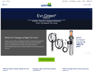 Access toyota.leviton.com. Toyota Home Page | Leviton Car Chargers