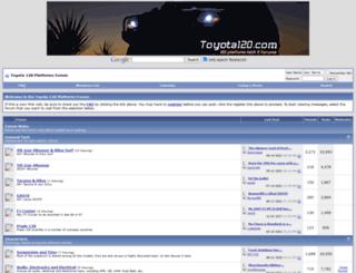toyota120.com screenshot