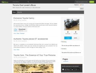 toyotafans.podbean.com screenshot