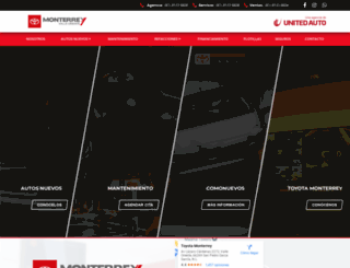 toyotamonterrey.com.mx screenshot