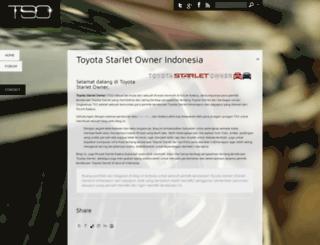 toyotastarletowner.com screenshot