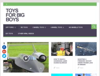 toysfor-bigboys.com screenshot