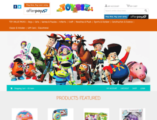toysparadise.com.au screenshot