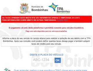 tpabombinhas.com.br screenshot