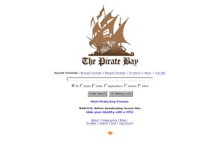 tpb-proxy.thepirateportal.net screenshot
