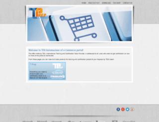 tprep.net screenshot