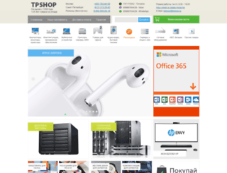 tpshop.ru screenshot