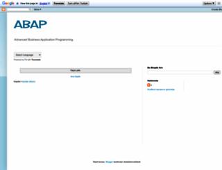 tr-abap.blogspot.com.tr screenshot