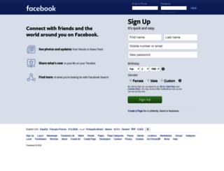 tr.facebook.com screenshot
