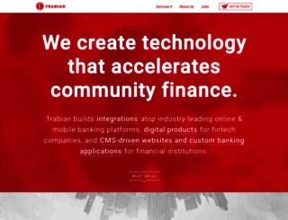 trabian.com screenshot