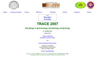 trace2007.lu.lv screenshot