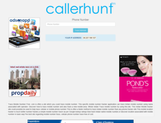 tracemobilenumberfree.com screenshot