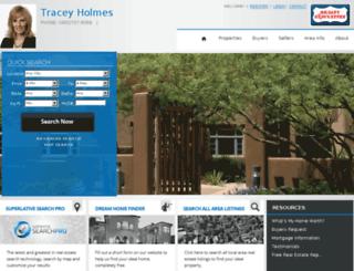 traceyholmes.com screenshot