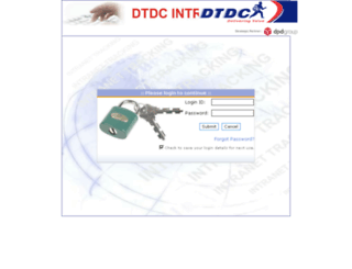 track.dtdc.com screenshot