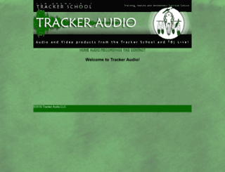 trackeraudio.com screenshot