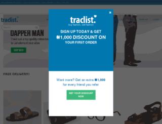 traclist.com screenshot