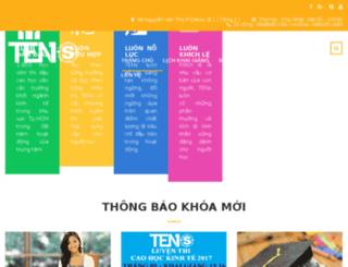 tracnghiem.tens.vn screenshot