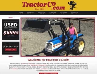 tractorco.com screenshot