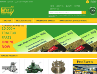 tractorspares.in screenshot