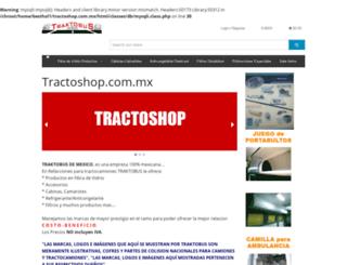 tractoshop.com.mx screenshot