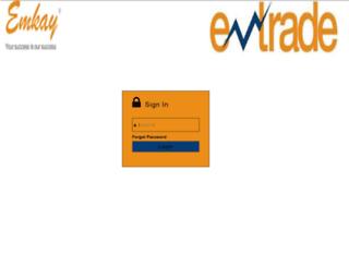 trade.emtrade.in screenshot