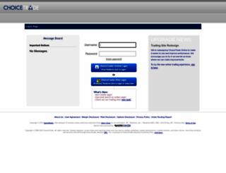 trade2.choicetrade.com screenshot