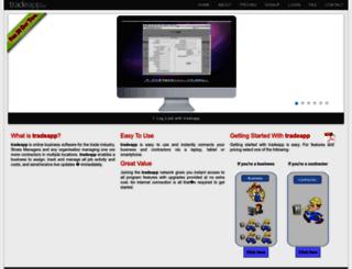 tradeapp.co screenshot