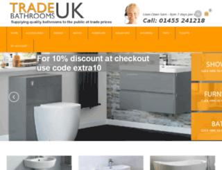 tradebathroomsuk.com screenshot