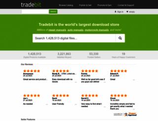 tradebit.com screenshot