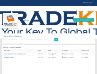 tradekey.mustakbil.com screenshot
