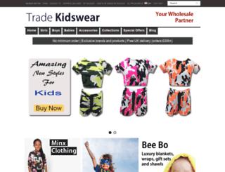tradekidswear.com screenshot