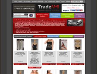trademill.co.uk screenshot