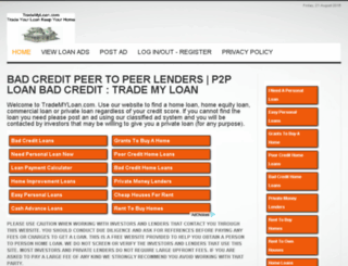 trademyloan.com screenshot