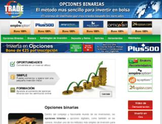 tradeopcionesbinarias.com screenshot