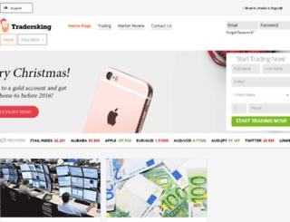 tradersking.com screenshot