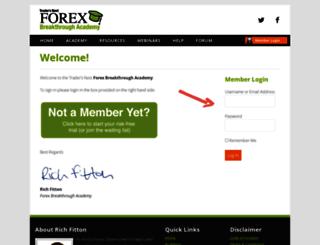 tradersnestacademy.com screenshot
