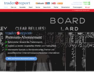 tradersreport.de screenshot