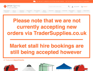 tradersupplies.co.uk screenshot