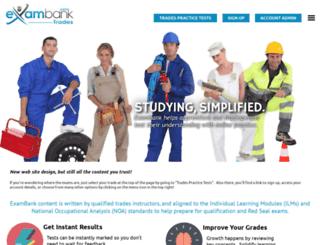 trades.exambank.com screenshot
