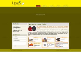 trades.liberalgroup.net screenshot