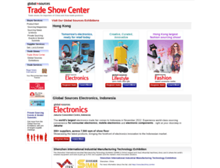 tradeshow.globalsources.com screenshot