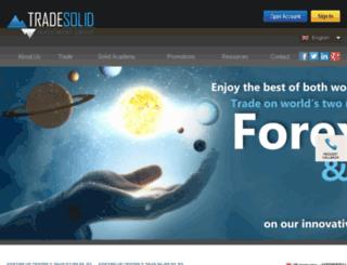 tradesolid.com screenshot