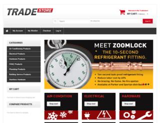 tradestore.com.au screenshot