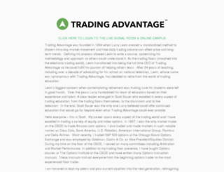 tradingadvantage.com screenshot