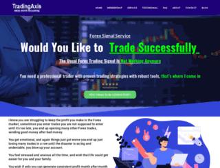 tradingaxis.com screenshot