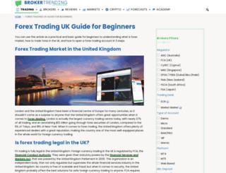 tradingbroker.co.uk screenshot