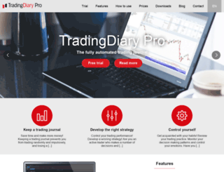 tradingdiarypro.com screenshot