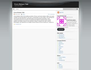 tradingeasy.wordpress.com screenshot