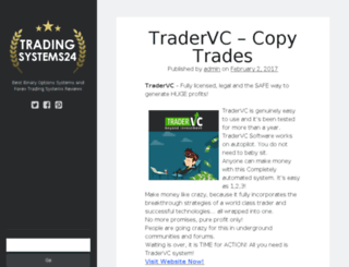 tradingsystems24.com screenshot