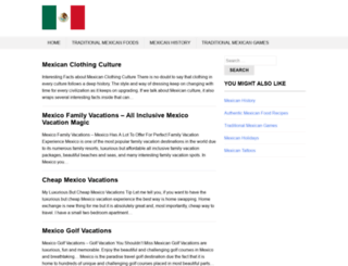 traditional-mexican-culture.com screenshot
